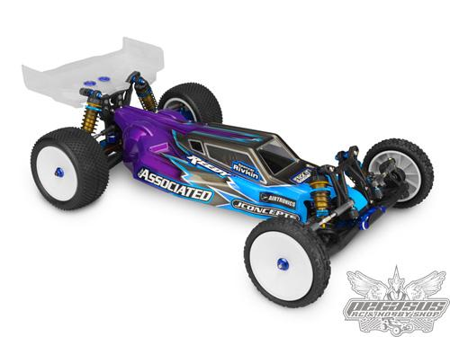 JConcepts S2 - B5M Worlds body w/6.5 Finnisher rear wing (Fits-lay-down transmission)