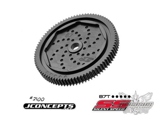 JConcepts-48 pitch, 72T, Silent Speed Machined Spur Gear