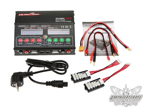 Ultra Power DUO 2X120W 12A Dual Channels AC/DC Charger LiIon/LiPo/LiFe/LiHv