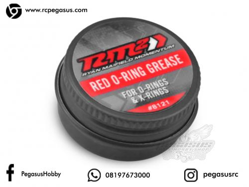 JConcepts - RM2 red, o-ring grease and treatment