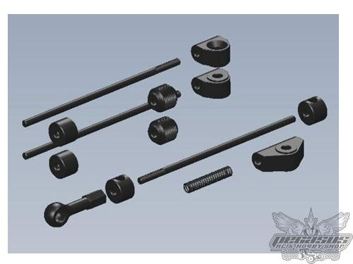 Intech Racing Brake/Throttle Link Set