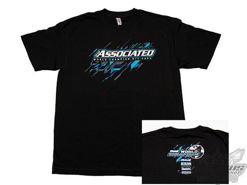 Team Associated AE 2017 Worlds T-Shirt, black, M