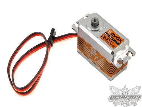 Savox High Torque Brushless Steel Gear Digital Servo (High Voltage)