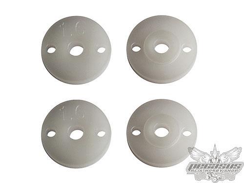 Team Associated FT 12 mm Pistons V2, 2x1.6, thin