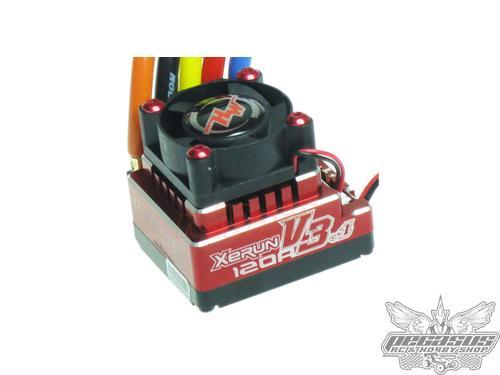 Hobbywing Xerun 120A v3.1 ESC - Red