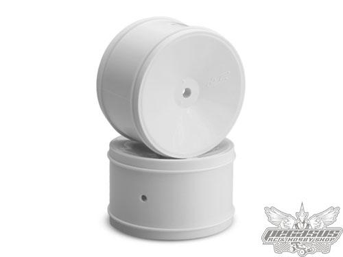 JConcepts Bullet RC10B5, RB6 12mm Hex 60MM Rear wheel, white - 4 pc