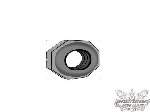 Intech Nut 4mm M4 x10