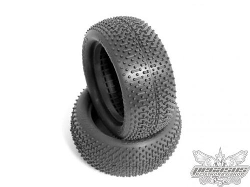 JConcepts Flip Outs - green compound (fits 2.2 inch 4wd front wheel)