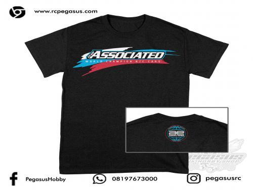 Team Associated WC19 T-shirt, black, L
