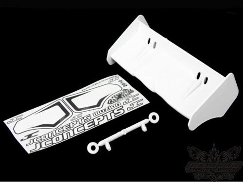 JConcepts Illuzion- 1/8th Buggy/Truggy wing, white