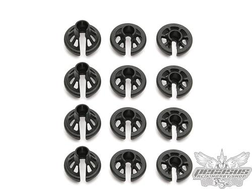 Team Associated 12mm Shock Spring Cups (12)