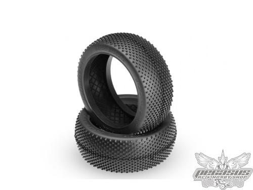 JConcepts Black Jackets - green compound - (fits 1/8th buggy)