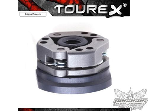 Tourex Speed 2.5 clutchbody complete with shoes aluminium and spring