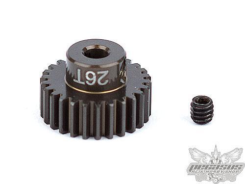 Team Associated FT Aluminum Pinion Gear, 26T 48P