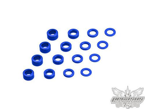 JConcepts Metric Washer Set (.5, 1,2,3,4 and 5mm Thickness)