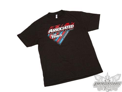 Team Associated 2015 Worlds T-Shirt, medium, black
