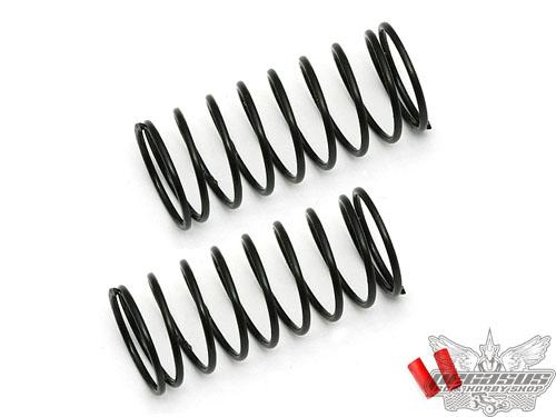Team Associated FT 12mm Front Springs, red, 3.90 lb