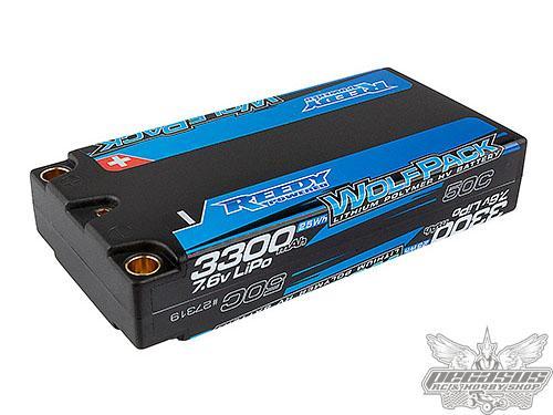Reedy Wolfpack HV-LiPo 3300mAh 50C 7.6V LP Shorty