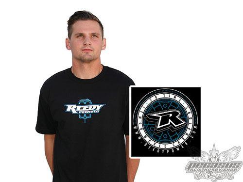 Reedy Medallion T-shirt, black, medium