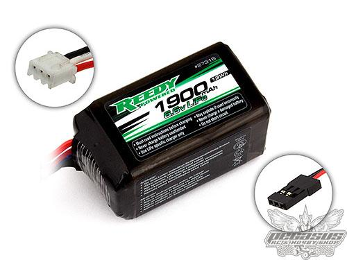 Reedy LiFe Pro RX 1900mAh 6.6V Flat