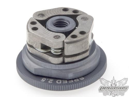 Tourex Speed 35mm 2.5 Extended clutch aluminum