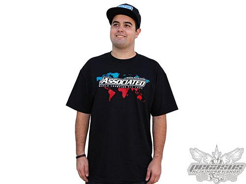 Team Associated International T-shirt, black, large