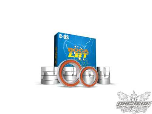 Boca Bearing Ceramic Orange Seal Abec 7 Tamiya TRF417 - 4WD RACING CAR