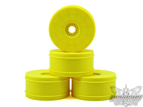 JConcepts Bullet 1/8th buggy wheel 83mm 4pc (yellow)