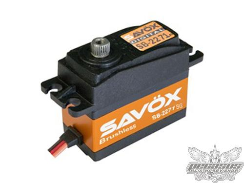 Savox SB-2271SG Monster Torque Brushless Steel Gear Digital Servo