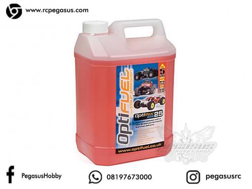 Optifuel Optimix RTR 25% Nitro Car Fuel 5 Litres