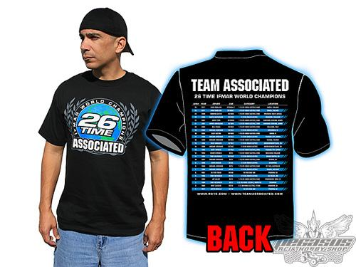 26-Time World Championship T-shirt, black, large