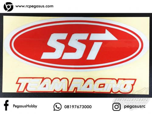 Cutting Sticker SST Team Racing PxL (12.1 x 6.6cm)