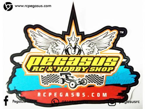 Sticker Printing Pegasus RC & Hobby Shop PxL (17.4 x 12.4cm)