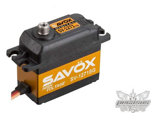 Savox SV-1271SG Monster Torque High Voltage Steel Gear Digital Servo