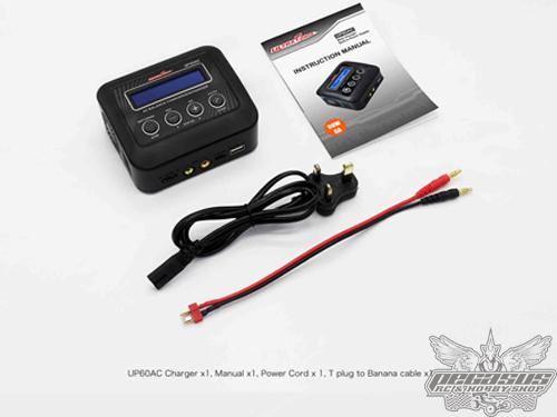 Ultra Power 60W 6A 2-4S Lithium Battery Charger