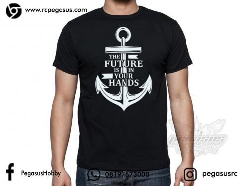 T-Shirt, The Future Is In Your Hands L
