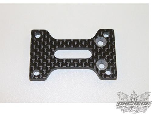 Intech Racing GRAPHITE CENTER DIFF SUPPORT PLATE