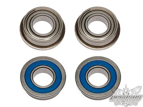 Team Associated FT Bearings, 8 x 16 x 5mm, flanged