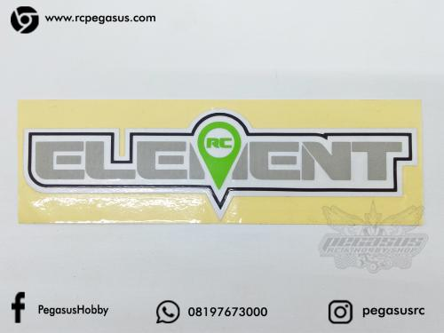 Cutting Sticker Element PxL (15.5 x 4.6cm)