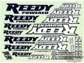 RC car remote control Reedy 2016 Sticker Sheet