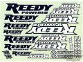 RC car remote control Reedy 2016 Sticker Sheet